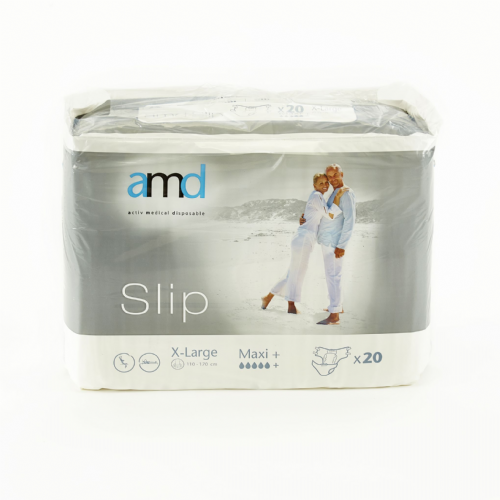 AMD Slip X Large Maxi Plus  - All-in-one pads Pack of 20